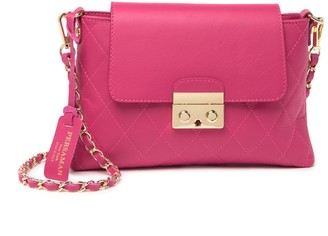 Persaman New York Shirley Quilted Leather Crossbody Bag