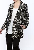 See U Soon Zebra Blazer Jacket