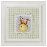 The Well Appointed House Nursery Rhymes Framed Wall Art: Cow Over the Moon