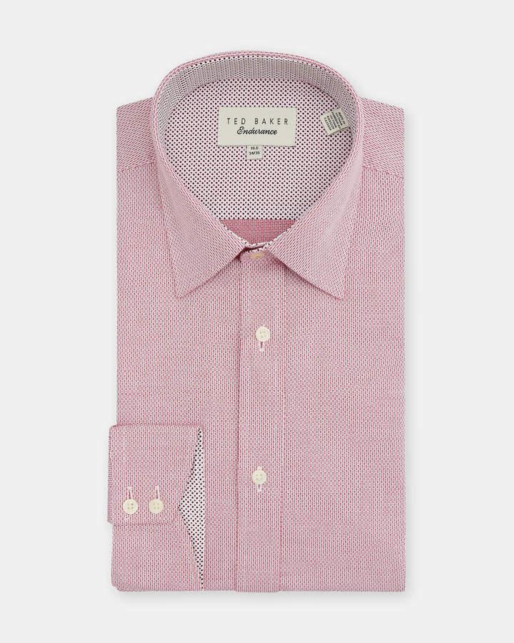 Ted Baker CATTON Semi plain Endurance shirt