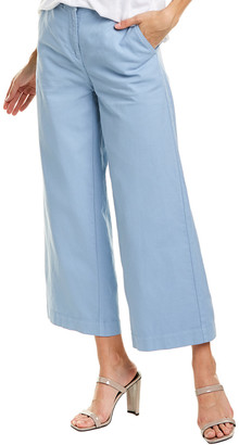 Eileen Fisher Wide Leg Ankle Pant