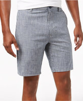 Mens Blue And White Stripe Shorts - ShopStyle