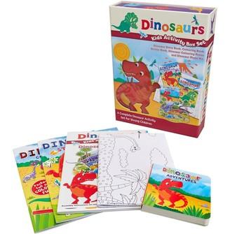 Mandmdirect.Com Kids Activity Box Set Dino Multi