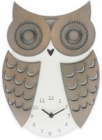 Sterling & Noble Clock Owl