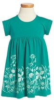 Tea Collection Toddler Girl's Fern Gully Graphic Dress
