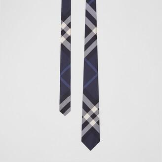 Burberry Classic Cut Check Silk Tie