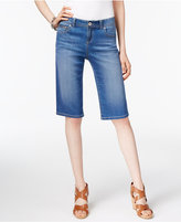 INC International Concepts Curvy Denim Bermuda Shorts, Only at Macy's