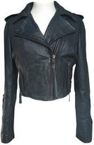 Twenty8Twelve By S.miller Anthracite Leather Jacket for Women