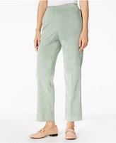 Alfred Dunner Winter Garden Pull-On Corduroy Pants