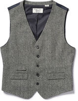 Original Penguin Tweed Vest