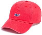 Vineyard Vines Whale Logo Washed Cotton Baseball Hat