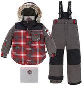 Deux Par Deux Two-Piece Lumberjack Snow Suit