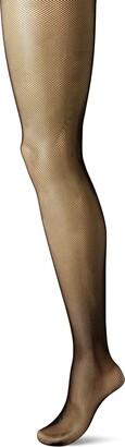 Hanes Women's Plus Size Curves Fashion Fishnet Tights