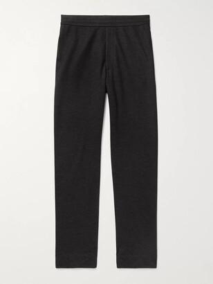 The Row LA Slim-Fit Cashmere-Jersey Sweatpants - Men - Gray