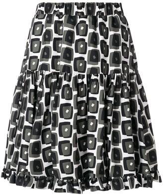 La DoubleJ Sassy Kaleidoscope skirt