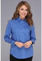 Jones New York Basic Shirt w/ Pleats at Cuff