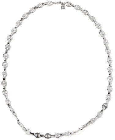 Paco Rabanne Nano Eight Chain Necklace - Silver