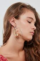 Urban Outfitters Rae 3D Statement Hoop Earring