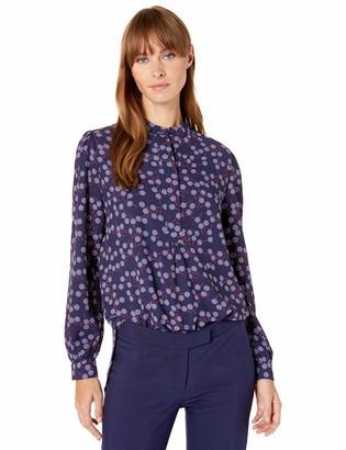 Anne Klein Women's Long Sleeve Tunic Blouse