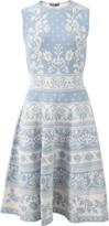 Alexander McQueen Spring Floral Jacquard Dress