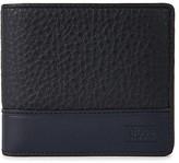 Boss Midnight Blue Leather Wallet