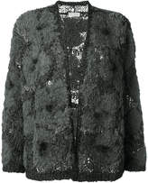 Brunello Cucinelli tweed cardigan