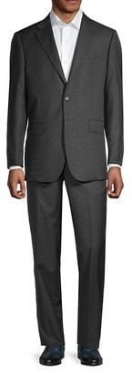 Saks Fifth Avenue Traveller Tailored-Fit Wool Suit
