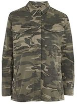 Tall camouflage sampson shacket