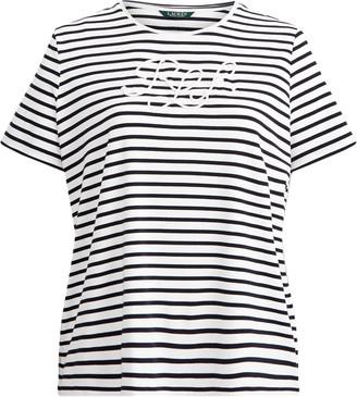 Ralph Lauren Logo Cotton-Blend T-Shirt
