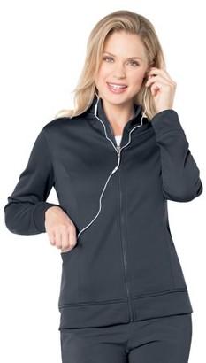 Urbane Scrubs Urbane Performance Women's Empower Three Pocket Zipper Front Scrub Jacket, Style 9872