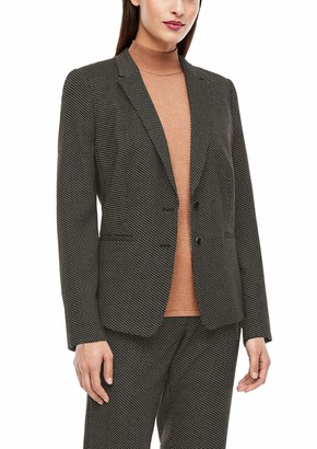 s.Oliver BLACK LABEL Women's 150.11.899.15.152.2042721 Business Casual Blazer
