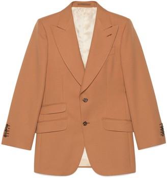 Gucci Fluid drill jacket