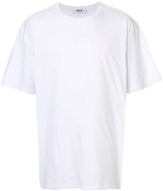 MSGM contrast logo T-shirt