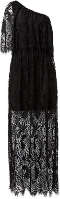 Seed Heritage One Shoulder Lace Maxi