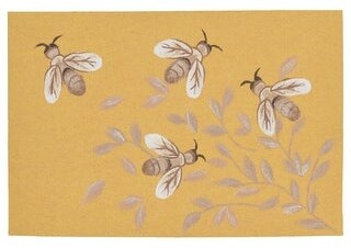 "Liora Manné Illusions Bees Indoor/Outdoor Mat Green 23""X59"""