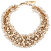 Max Mara Dialogo Beaded Collar Necklace