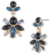 Ivanka Trump Cluster Epoxy and 10K Gold-Plated Drop Earrings