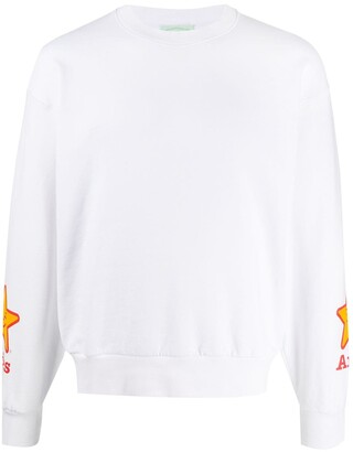 Aries Branded Long-Sleeved Sweatshirt