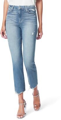 Joe's Jeans The Hi Rise Honey High Waist Crop Curvy Bootcut Jeans