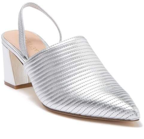 4d17ca201db61 Liza Block Heel Slingback Mule