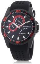 Bruno Banani Men's Watch XL Analogue Rubber Quartz BR22007 Shiva