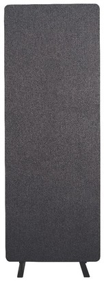 Luxor Reclaim Office, Classroom Wall Partition Freestanding Acoustic Room Divider, Single Panel - Slate Gray - Not Available