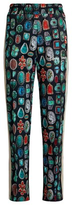 Palm Angels Jewels Print Sweatpants