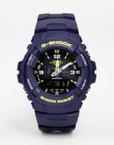 G Shock G-shock Analogue Watch G-100-2bvmur - Blue