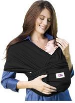 My Baby Nest Organic Baby Carrier Wrap - Ebony (Medium)