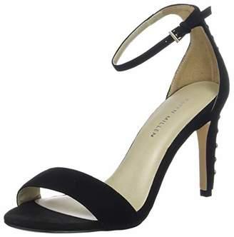 Karen Millen Fashions Limited Women's Studded Heeled Sandals Open Toe Heels, Black (Black 01), 5 (38 EU)