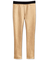 Epic Threads Little Girls' Faux-Leather Panel Pants, Only at Macy's