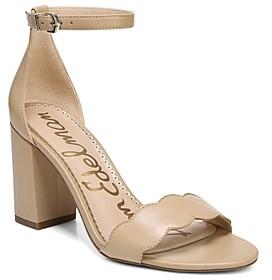 Sam Edelman Women's Odila Block Heel Sandals
