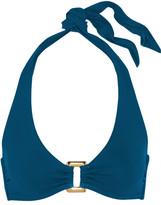 Heidi Klein San Diego Halterneck Bikini Top - Storm blue