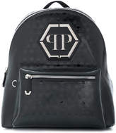 Philipp Plein skull embossed backpack